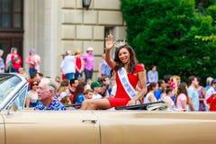 Parada nacional 2015 do Dia da Independência Foto de Stock