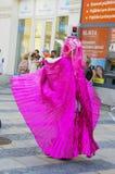 Parada nas ruas 2015 de Ostrava Foto de Stock Royalty Free