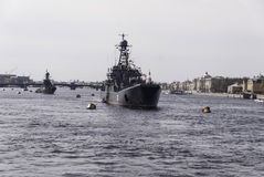 Parada naval Imagem de Stock Royalty Free