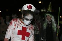 Parada NYC 5350 de Halloween Fotografia de Stock