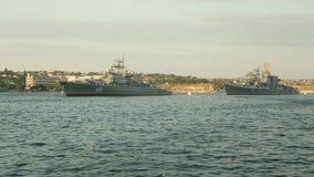 Parada okręty wojenni Rosja zdjęcie wideo