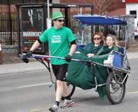 Parada Ottawa do dia do St. Patrick Fotografia de Stock Royalty Free