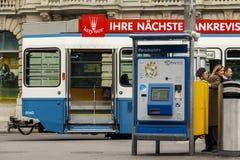 Parada Platz, Zurich, Szwajcaria zdjęcie stock