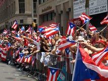 Parada porto-riquenha fotografia de stock