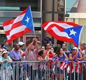 Parada porto-riquenha do dia Fotografia de Stock