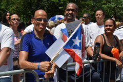 Parada porto-riquenha 2015 do dia Fotos de Stock Royalty Free