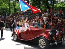Parada porto-riquenha do dia imagem de stock