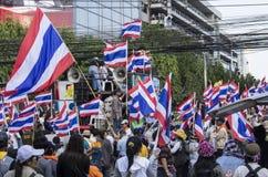 Parada programada de Banguecoque: 14 de janeiro de 2014 Foto de Stock Royalty Free