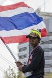 Parada programada de Banguecoque: 14 de janeiro de 2014 Imagens de Stock Royalty Free