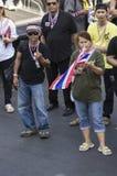Parada programada de Banguecoque: 13 de janeiro de 2014 Foto de Stock