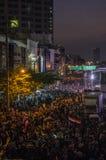 Parada programada de Banguecoque: 13 de janeiro de 2014 Fotografia de Stock Royalty Free
