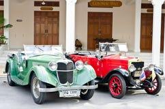 Parada retro 2011 do carro do vintage do indicador Fotografia de Stock Royalty Free