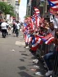 Parada rican do dia de Puertor imagem de stock