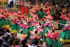 Parada Singapore de Chingay 2011 Imagem de Stock Royalty Free