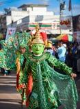 Parada tana przedstawienia maski międzynarodowy festiwal 2018 Obraz Royalty Free