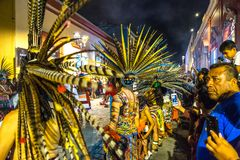 Parada tradicional da rua Fotografia de Stock