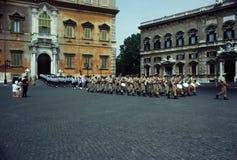 parada wojskowa Zdjęcie Royalty Free