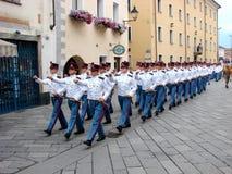 parada wojskowa Zdjęcie Stock