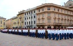 parada wojskowa Zdjęcia Stock
