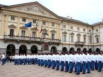 parada wojskowa fotografia royalty free