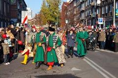 Parada z okazji dnia niepodległości Zdjęcia Stock