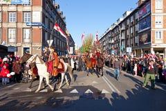 Parada z okazji niezależności Dayy Obrazy Royalty Free