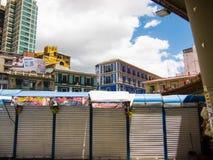 Paradas cerradas en el La Paz Bolivia Foto de archivo libre de regalías