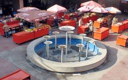 Paradas del mercado Imagen de archivo