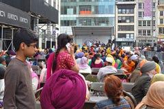 2014 paradas sikh do dia Imagem de Stock