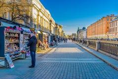 Paradas turísticas del mercado Fotografía de archivo libre de regalías