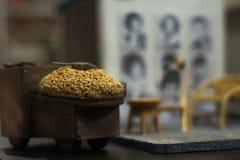 Paradas viejo Hong Kong Life de la comida de bocados fotografía de archivo