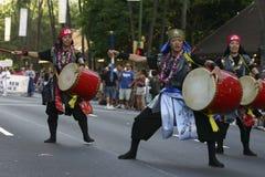 Parade 2 van Nisei royalty-vrije stock fotografie