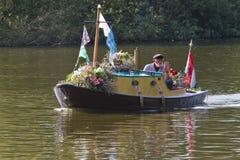 Parade 2011 van de Bloem van Westland de Drijvende Stock Foto's