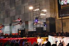 Parade 2011 van de Nacht van het Nieuwjaar van Int'l de Chinese Stock Fotografie