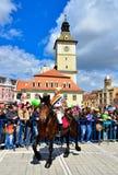 Parade 2012, Rumänien Brasov Juni Stockbild