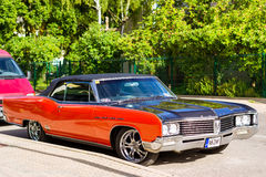 Parade of American cars Buick in Palanga Stock Photography