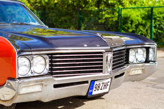 Parade of American cars Buick in Palanga Stock Images