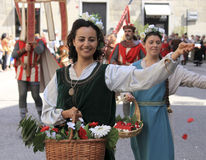 Parade of the Ancient Maritime Republics 2010 Stock Photography