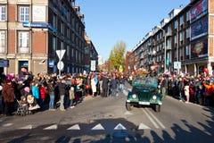 Parade anlässlich des Unabhängigkeitstags Lizenzfreies Stockbild