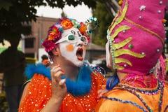 Parade Artist Make-up Royalty Free Stock Images