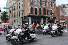 Parade auf Broadway in Nashville, Tennessee Lizenzfreies Stockbild