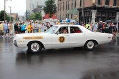 Parade auf Broadway in Nashville, Tennessee Stockbild