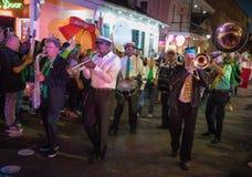 Parade Bourbon Street, New Orleans Stock Photo