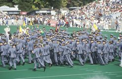 Parade of Cadets Royalty Free Stock Photo