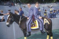 Parade of Cadets Stock Photos