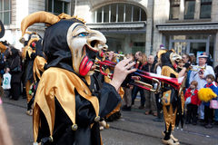 Parade, Carnival in Basel, Switzerland Stock Photo