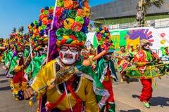 Parade carnival festival of  Barranquilla Atlantico Colombia Stock Photos