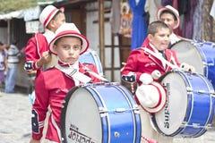 Parade celebrating the independence of Guatemala's Stock Photo