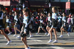 Parade Cheerleaders Stock Image