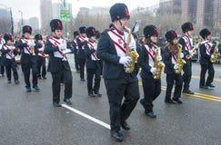 Parade Chicagos St Patrick Stockbild